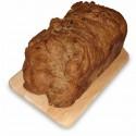Заварной черный хлеб с черносливом